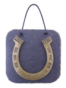 Lucky Irish horseshoe plaque